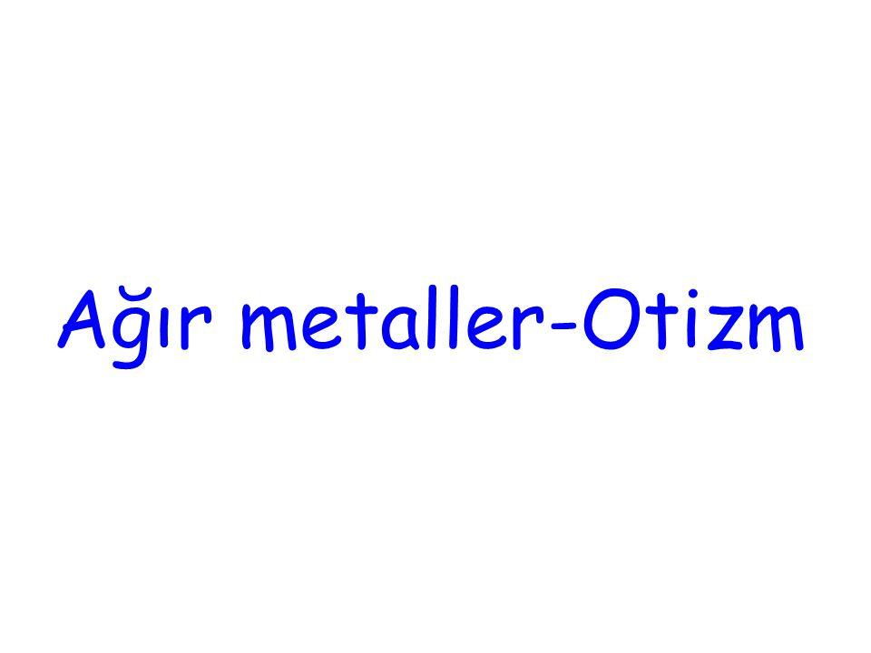 Ağır metaller-Otizm