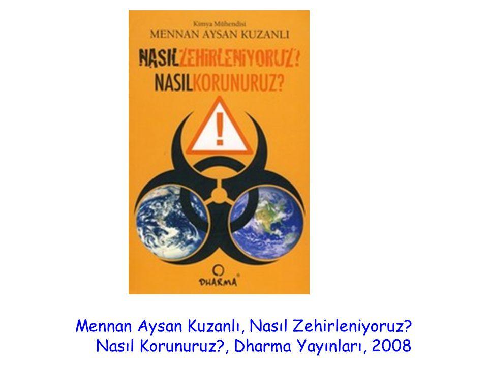 Mennan Aysan Kuzanlı, Nasıl Zehirleniyoruz? Nasıl Korunuruz?, Dharma Yayınları, 2008