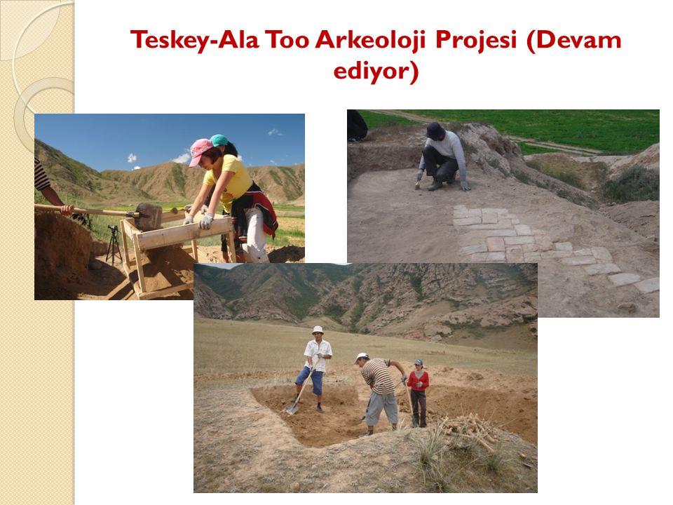 Teskey-Ala Too Arkeoloji Projesi (Devam ediyor)