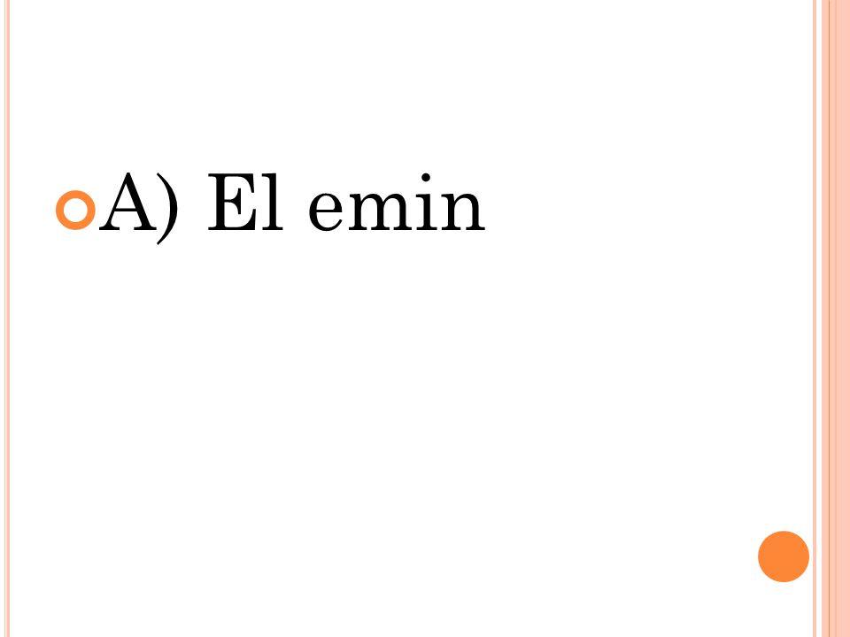 A) El emin