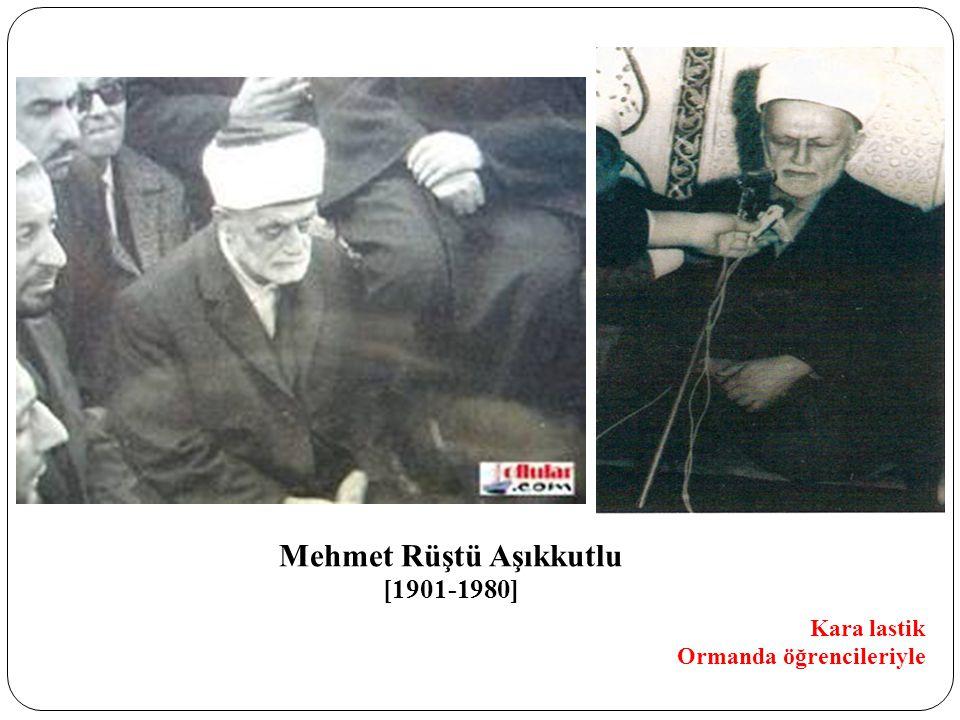 Mehmet Rüştü Aşıkkutlu [1901-1980] Kara lastik Ormanda öğrencileriyle