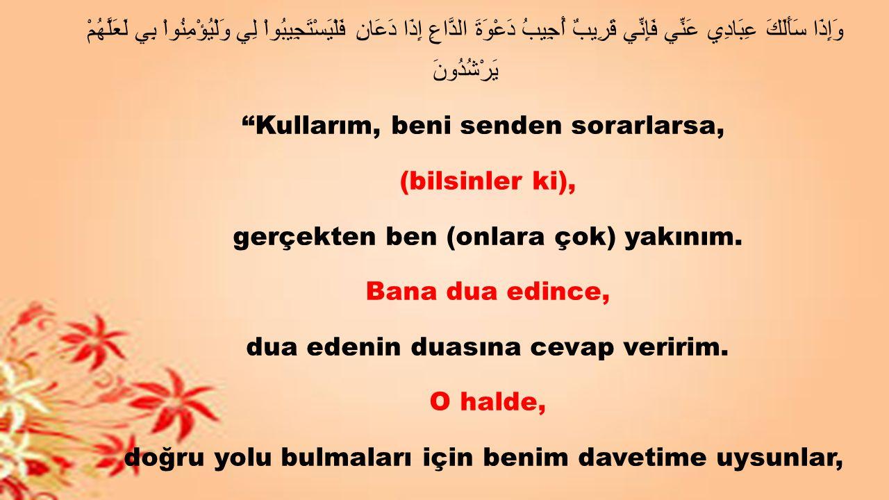اللَّهمَّ قِني عَذَابكَ يوْمَ تَبْعثُ عِبادَكَ Allahım.