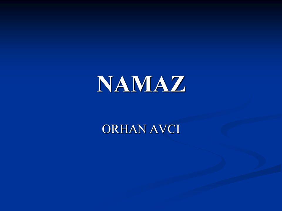 NAMAZ ORHAN AVCI