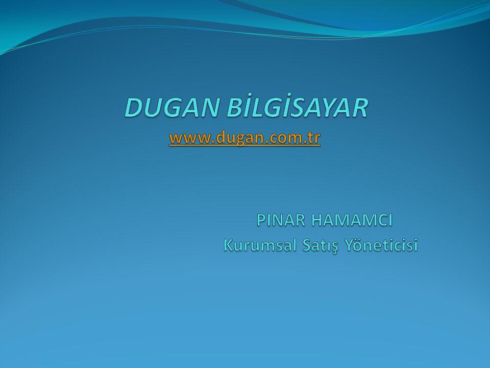 Hakkımızda Dugan Bilgisayar 1997 yılında Halim Dugan tarafından kurulmuştur.