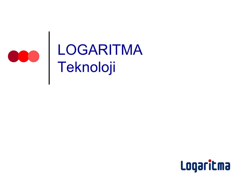 LOGARITMA Teknoloji