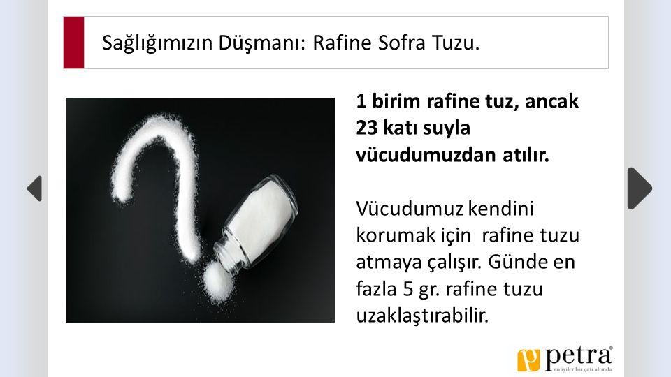 Sağlığımızın Düşmanı: Rafine Sofra Tuzu.Aşırı rafine tuz tüketimi nasıl hasta yapar.