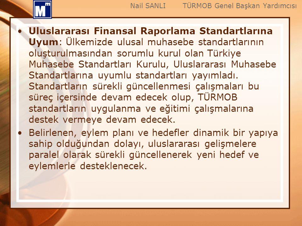 Uluslararası Finansal Raporlama Standartlarına Uyum: Ülkemizde ulusal muhasebe standartlarının oluşturulmasından sorumlu kurul olan Türkiye Muhasebe S