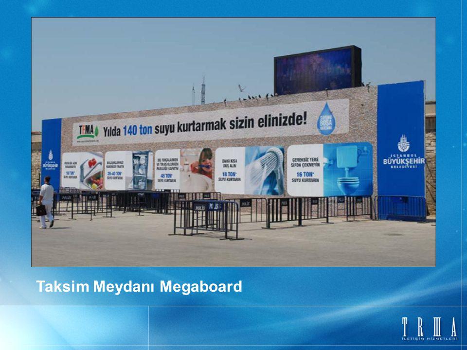 Taksim Meydanı Megaboard