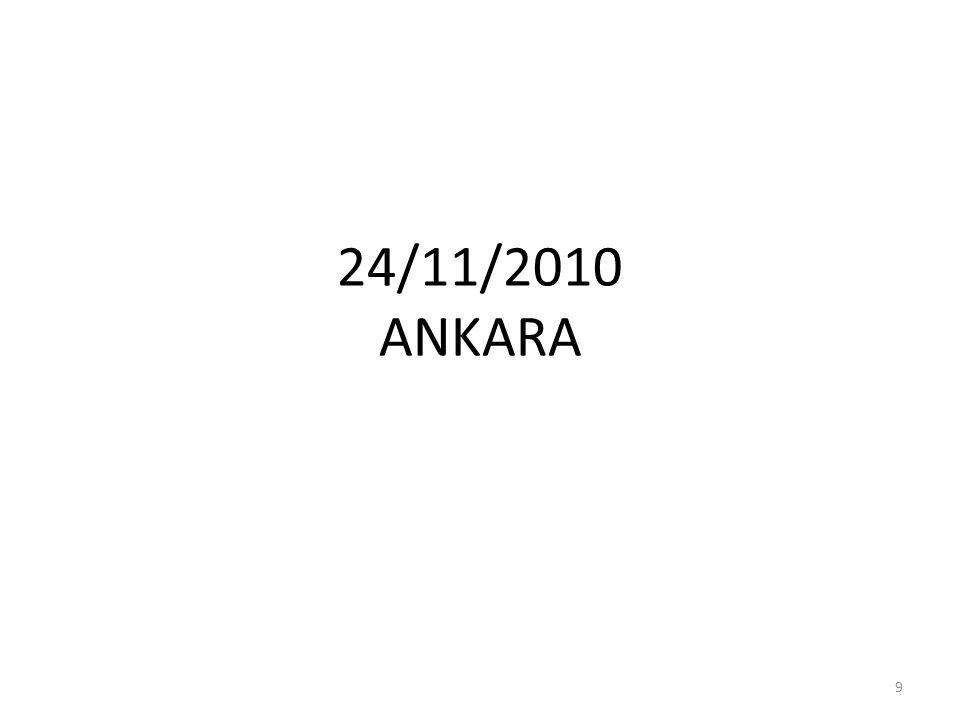24/11/2010 ANKARA 9