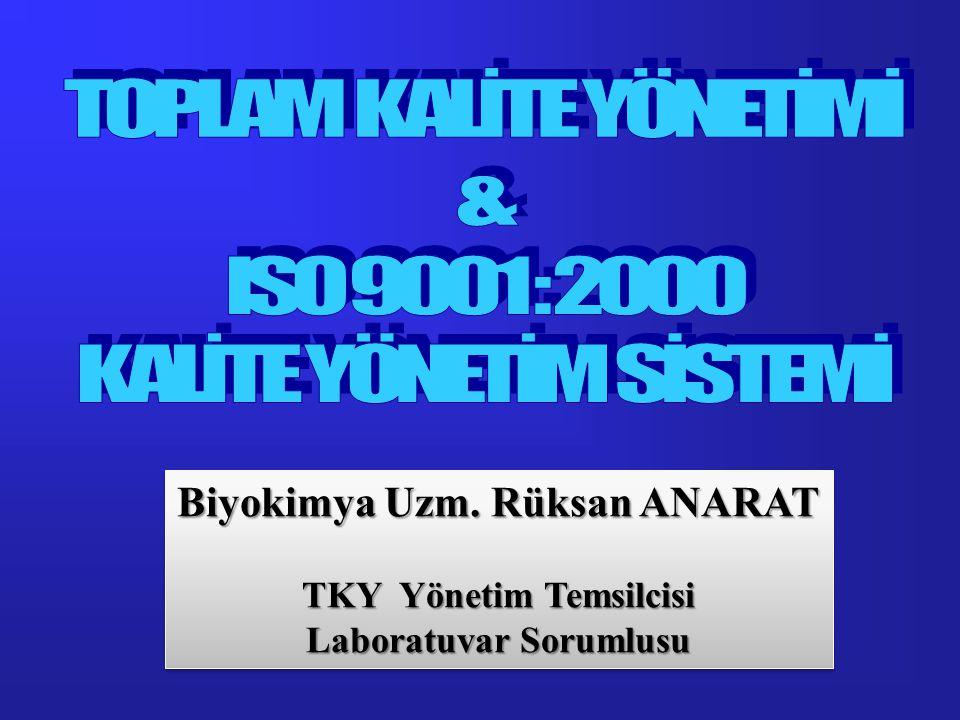 NEDEN ISO 9000 .
