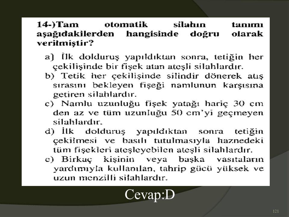 121 Cevap:D
