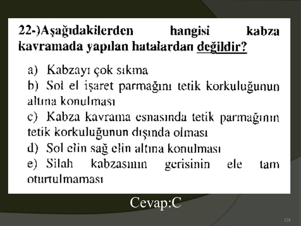 129 Cevap:C