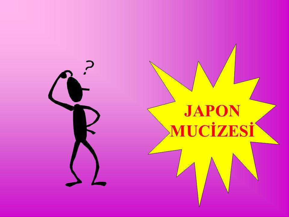 TKY'NİN TARİHSEL GELİŞİMİ II.DÜNYA SAVAŞI ÖNCESİ VE SONRASI MADE IN JAPAN BATI