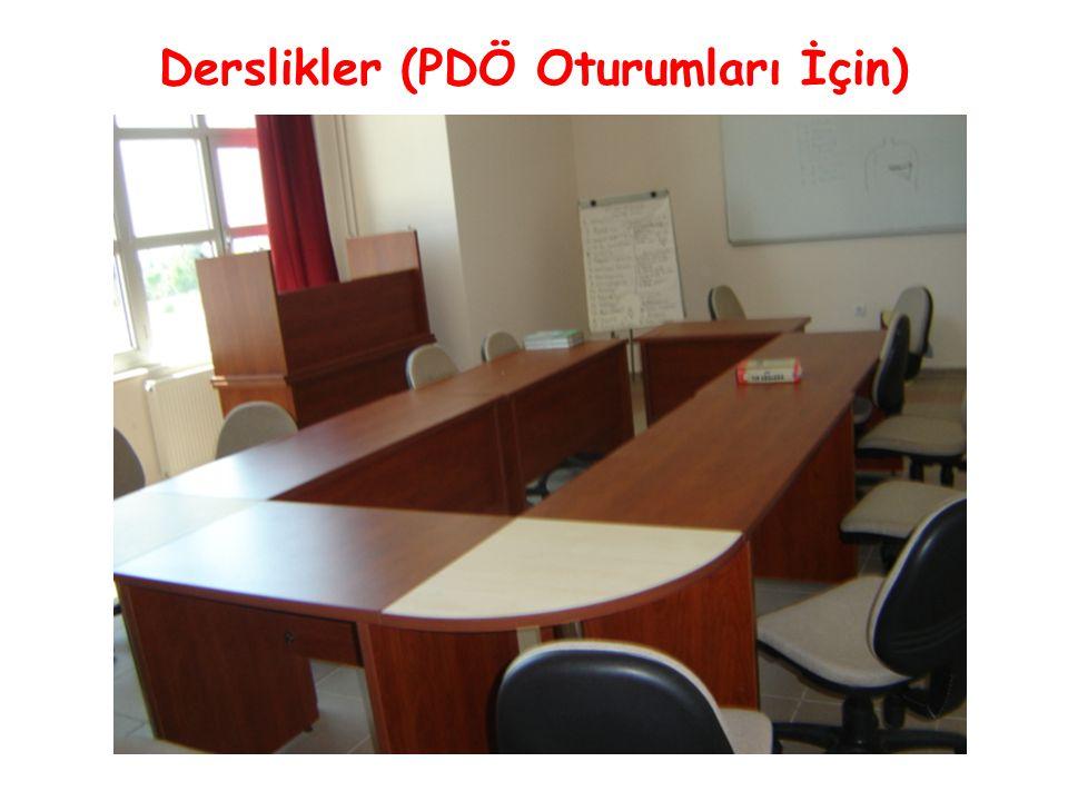 Derslikler (PDÖ Oturumları İçin)