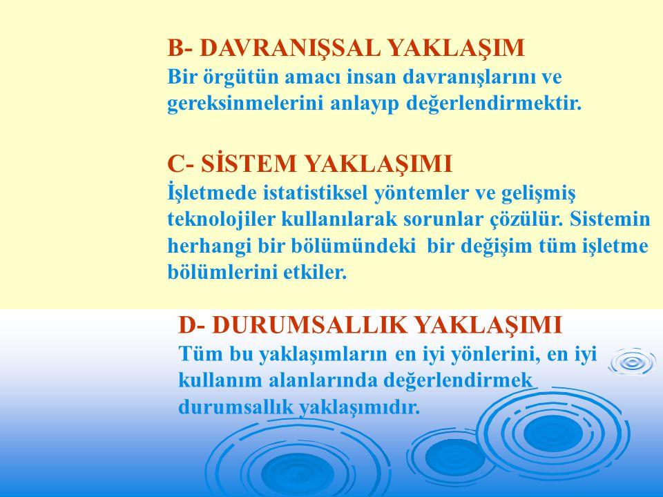 A- Talimatın/emrin Yöneltmedeki Yeri ve Önemi Yöneltme işlevinin işlerlik kazanabilmesi için buyruklar gereklidir.
