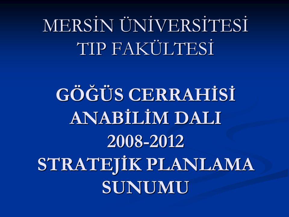 Bu stratejik plan sunumu 10.12.2003 tarihli 5018 sayılı Kamu Mali Yönetimi ve Kontrol Kanunu nun 9.
