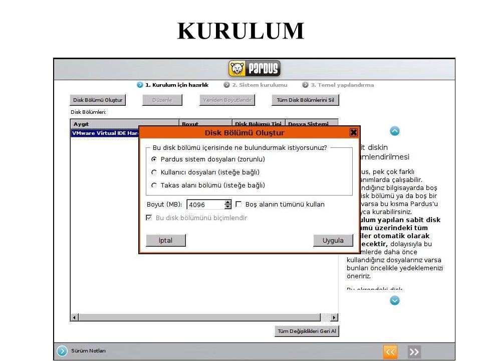 Yenilikler ; Ayrıca, OpenOffice.org, Firefox, Thunderbird, GNOME ve KDE uygulamalarındaki Türkçe desteği daha da artırıldı.