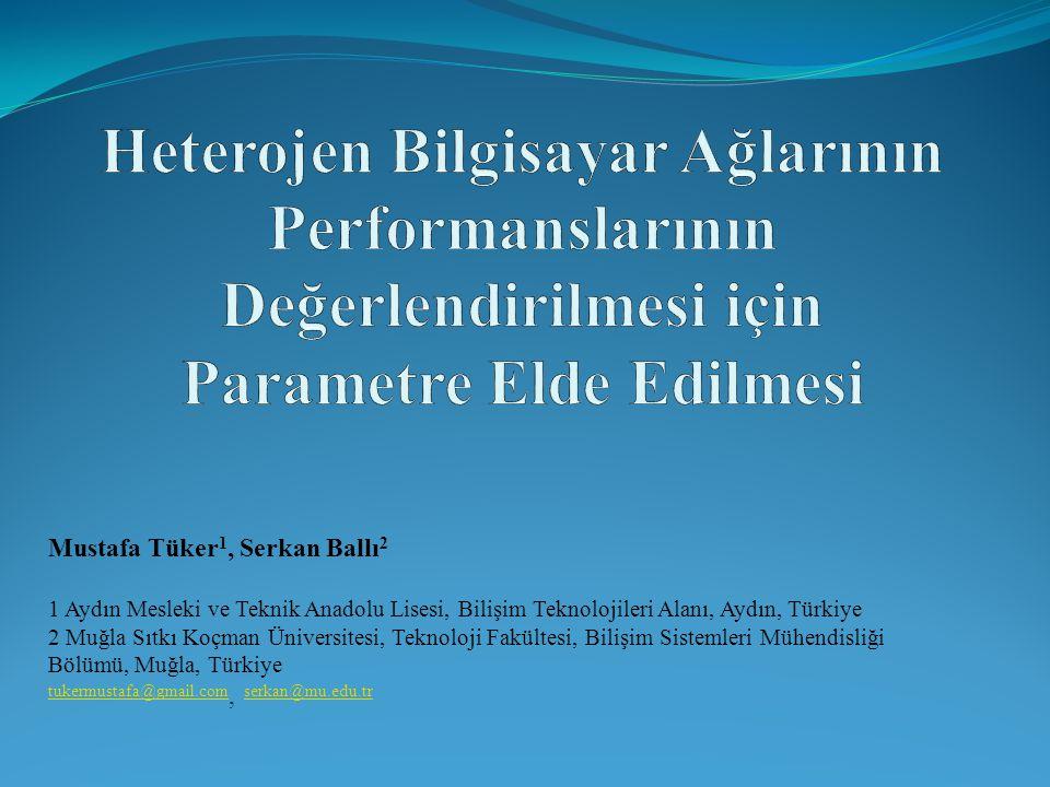 Mustafa Tüker 1, Serkan Ballı 2 1 Aydın Mesleki ve Teknik Anadolu Lisesi, Bilişim Teknolojileri Alanı, Aydın, Türkiye 2 Muğla Sıtkı Koçman Üniversites