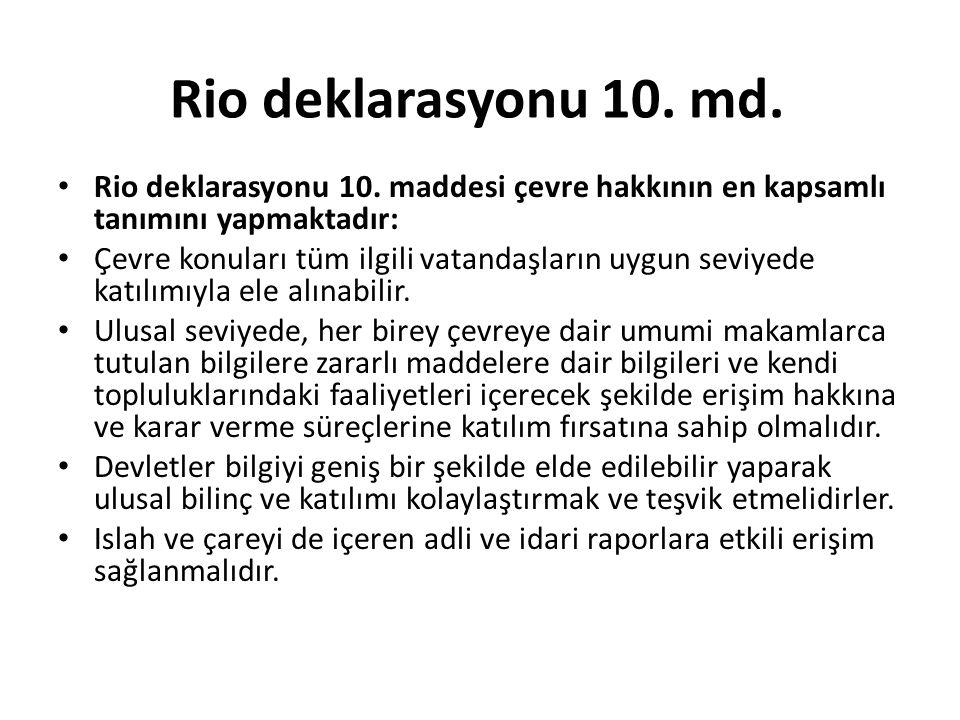 Rio deklarasyonu 10.md. Rio deklarasyonu 10.