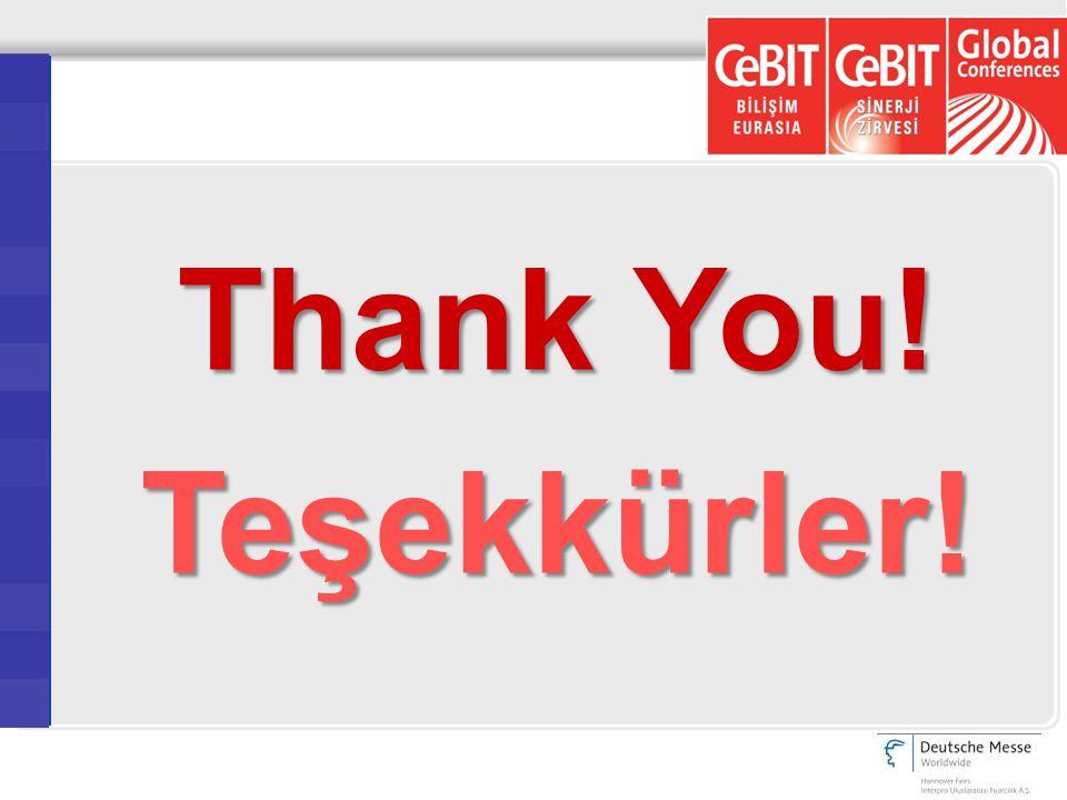 Thank You! Teşekkürler!