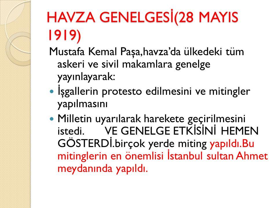 9. ORDU MÜFETT İ ŞL İĞİ N İ N GÖREVLER İ Görev bölgesinde iç asayişi sa ğ lamak Halkın elindeki silah ve cephaneleri toplamak Türk ordularının terhis