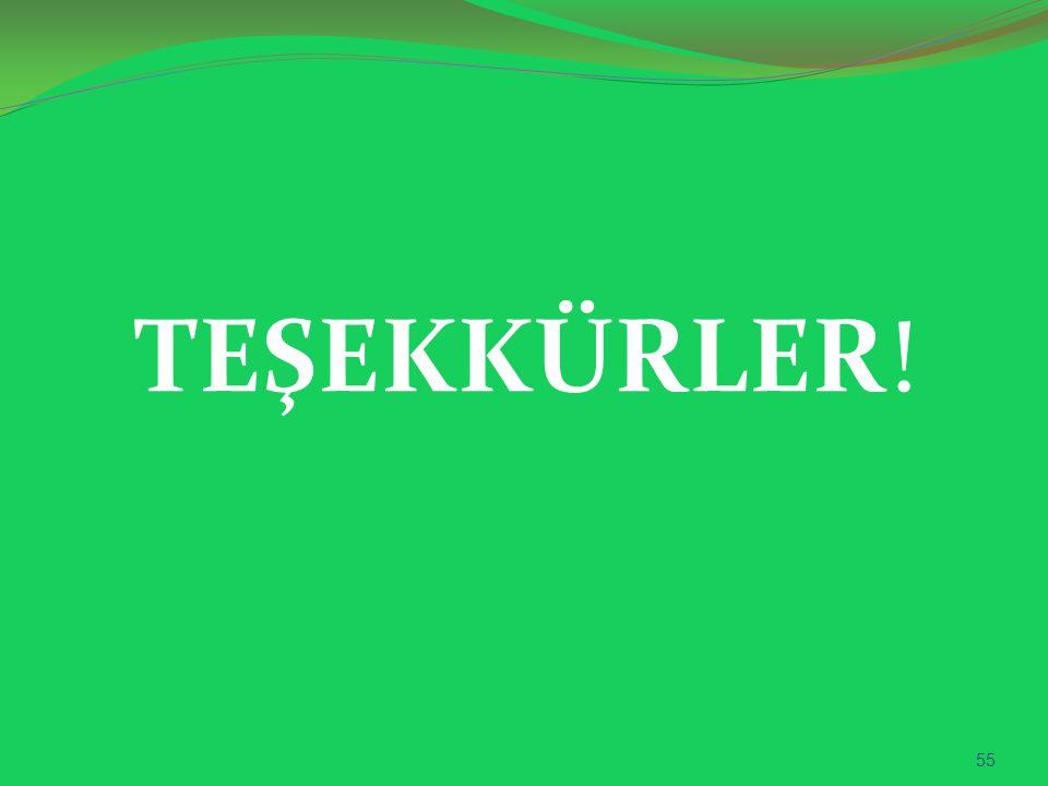 TEŞEKKÜRLER! 55