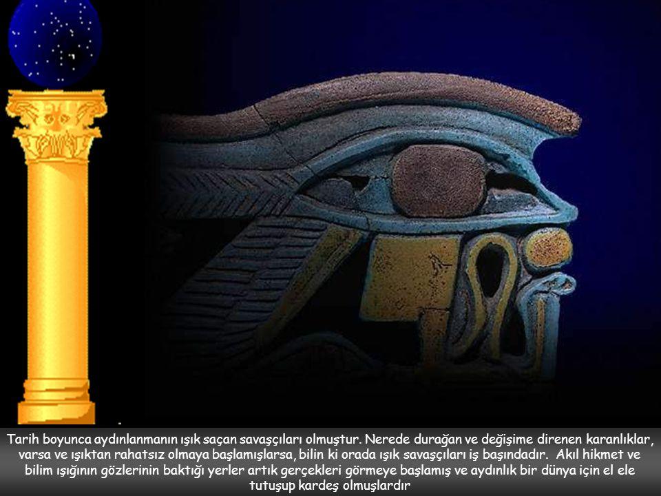 Ancak Akhenaton'un kurmuş olduğu bu yeni din özellikle taş ustaları arasında ezoterik bir öğreti olarak devam etti.