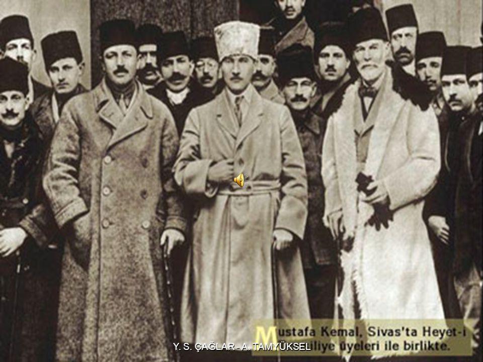 SİVAS KONGRESİ KARARLARI  Erzurum Kongresinde alınan kararlar kabul edildi.  Anadolu ve Rumeli'de kurulmuş olan Müdafaa-i Hukuk dernekleri, Anadolu
