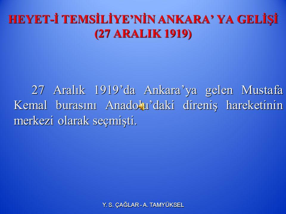 SİVAS KONGRESİNİN ÖNEMİ   M.Kemal kongrede Temsil Heyeti'nin başkanı olarak seçilmekle Ulusal Kurtuluş Savaşı'nın yetkili lideri haline gelmiştir. 