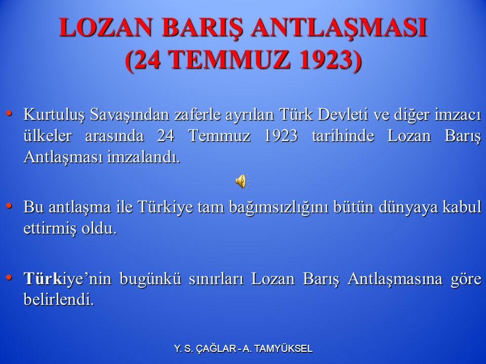 SALTANATIN KALDIRILMASI (1 Kasım 1922) İçte birliği sağlamak amacıyla 1 Kasım 1922'de saltanat hilafetten ayrılarak kaldırılmıştır. İçte birliği sağla
