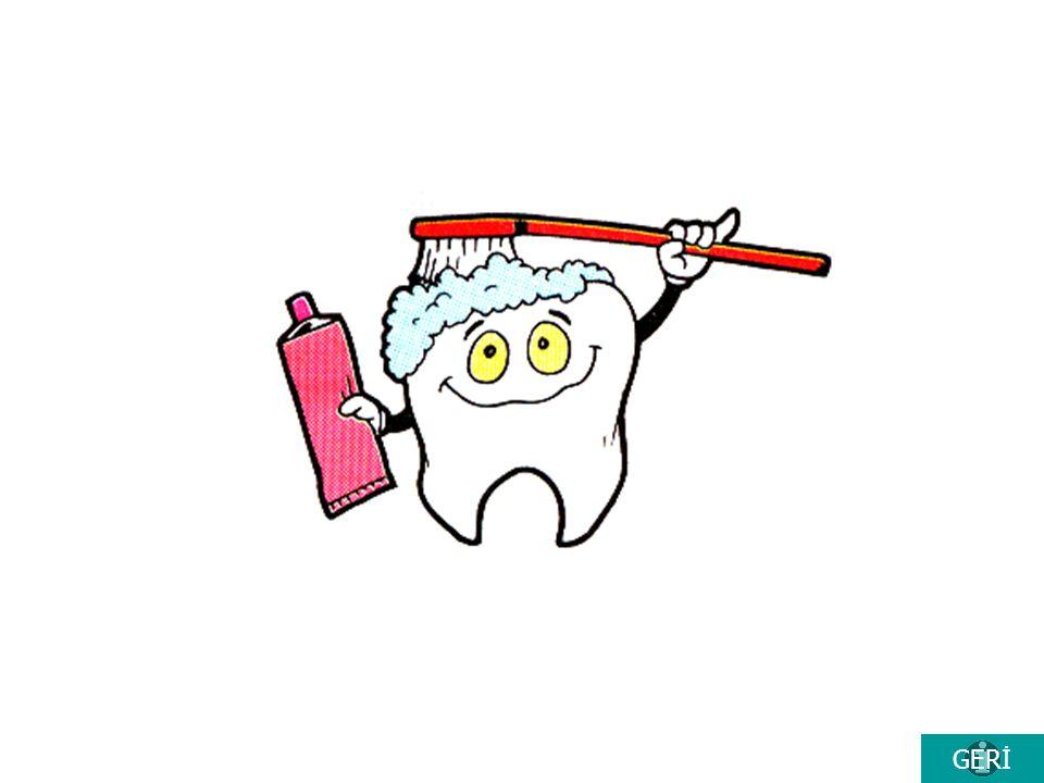 --- Neler Öğrendik ? --- 1)Dişler için sağlıklı olan besinleri bul. 2) Aşağıdakilerden hangisi diş fırçalama araçlarından değildir. Diş Fırçası Diş ma