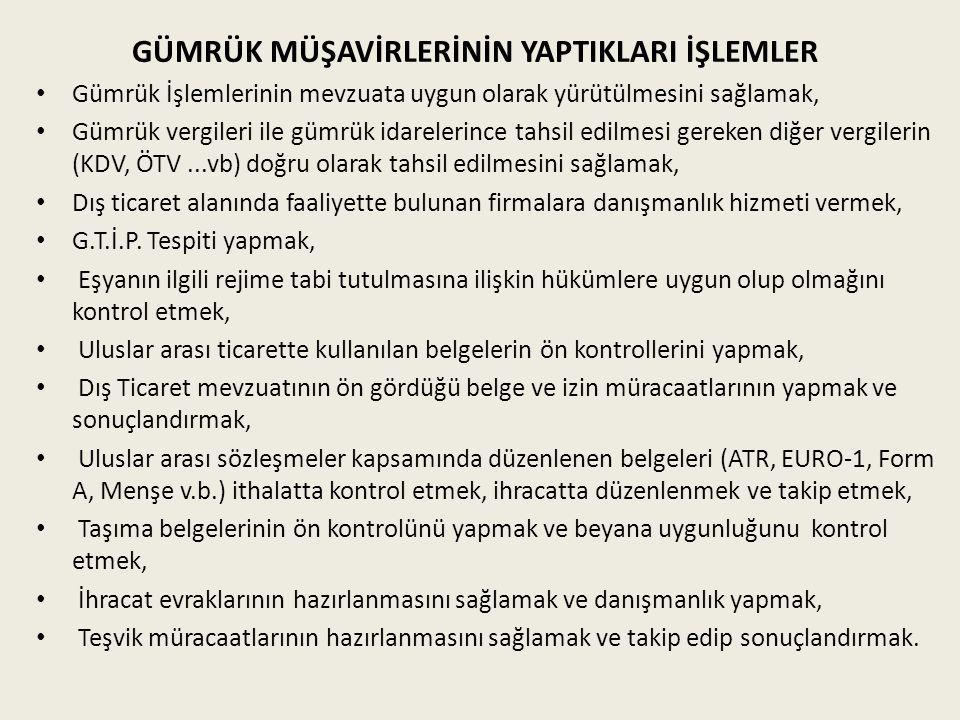 GÜMRÜK MÜŞAVİRLİĞİ MESLEĞİNİN ÖNEMİ Türkiye'nin dış ticaret ve gümrük düzenlemeleri oldukça karmaşıktır.