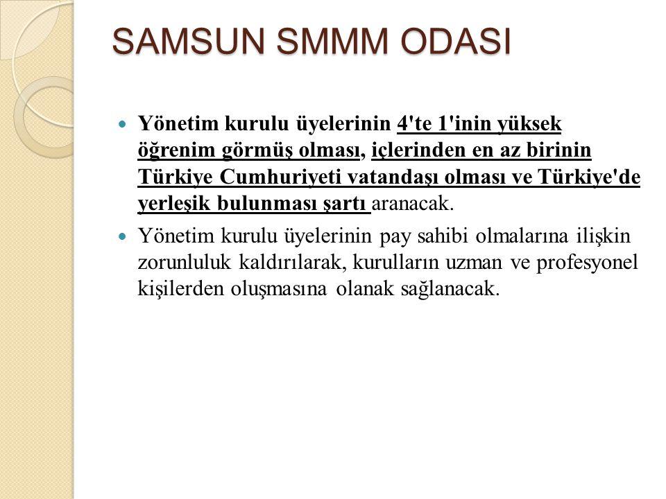 Yönetim kurulu üyelerinin 4'te 1'inin yüksek öğrenim görmüş olması, içlerinden en az birinin Türkiye Cumhuriyeti vatandaşı olması ve Türkiye'de yerleş