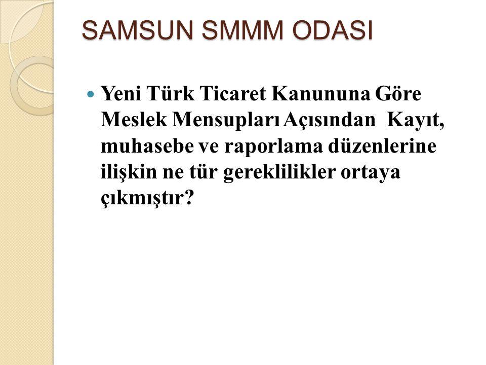 Yeni Türk Ticaret Kanununa Göre Meslek Mensupları Açısından Kayıt, muhasebe ve raporlama düzenlerine ilişkin ne tür gereklilikler ortaya çıkmıştır? SA