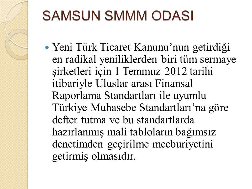 Yeni Türk Ticaret Kanunu'nun getirdiği en radikal yeniliklerden biri tüm sermaye şirketleri için 1 Temmuz 2012 tarihi itibariyle Uluslar arası Finansa