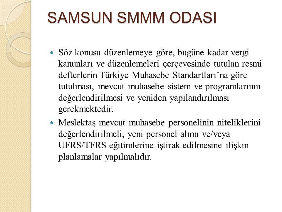Söz konusu düzenlemeye göre, bugüne kadar vergi kanunları ve düzenlemeleri çerçevesinde tutulan resmi defterlerin Türkiye Muhasebe Standartları'na gör