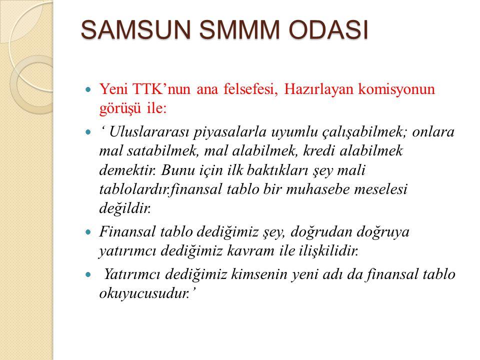 SAMSUN SMMM ODASI Koşullu borçlar Koşullu borç, kesin olmayan olası bir yükümlülük veya karşılık olarak muhasebeleştirilemeyen mevcut bir yükümlülüktür