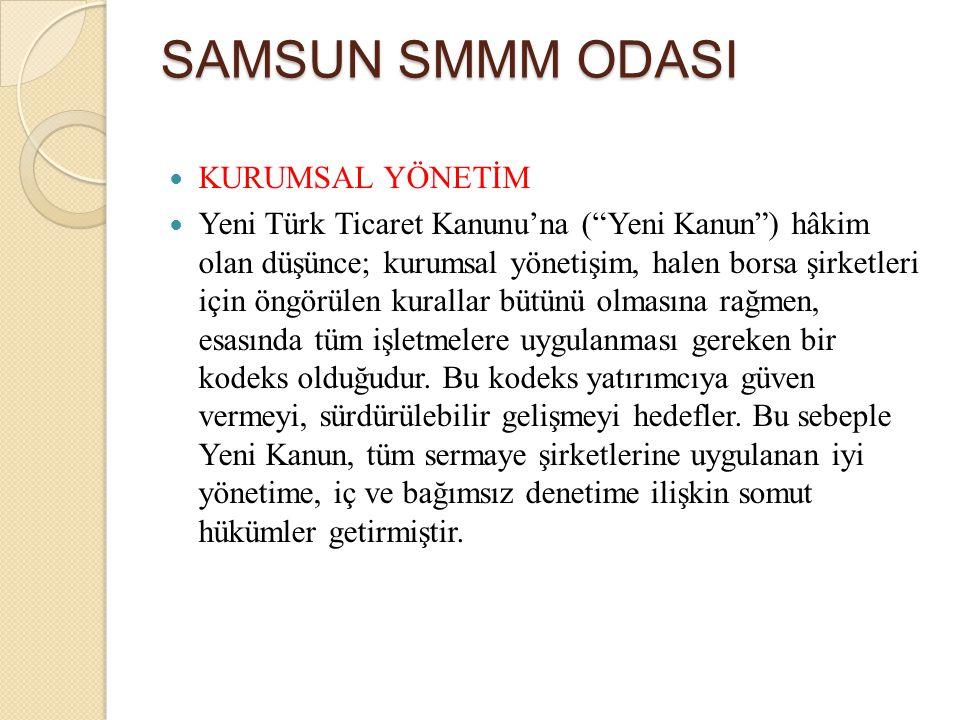 """KURUMSAL YÖNETİM Yeni Türk Ticaret Kanunu'na (""""Yeni Kanun"""") hâkim olan düşünce; kurumsal yönetişim, halen borsa şirketleri için öngörülen kurallar büt"""