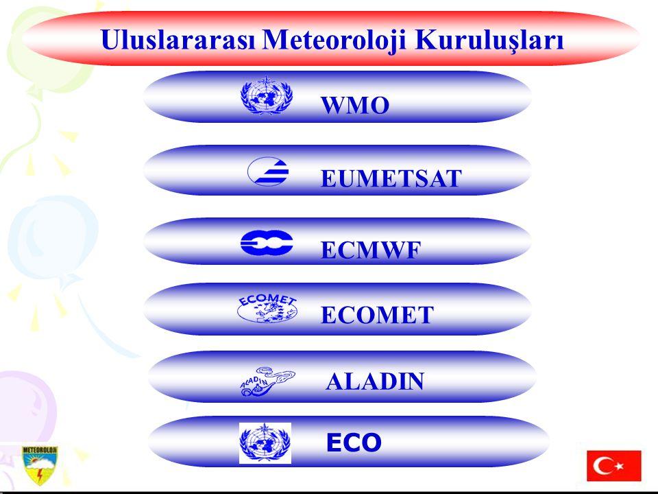 Hazırlayan: Mustafa ADIGÜZELDış İlişkiler Şube Müdürü, 16 Aralık 2004 14.01.2008 H.MURAT PULLA DIŞ İLİŞKİLER ŞUBE MÜDÜRÜ 14 EUMETSAT WMO ECMWF ECOMET