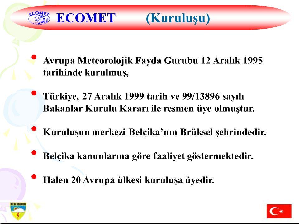 Hazırlayan: Mustafa ADIGÜZELDış İlişkiler Şube Müdürü, 16 Aralık 2004 14.01.2008 H.MURAT PULLA DIŞ İLİŞKİLER ŞUBE MÜDÜRÜ 33 Avrupa Meteorolojik Fayda