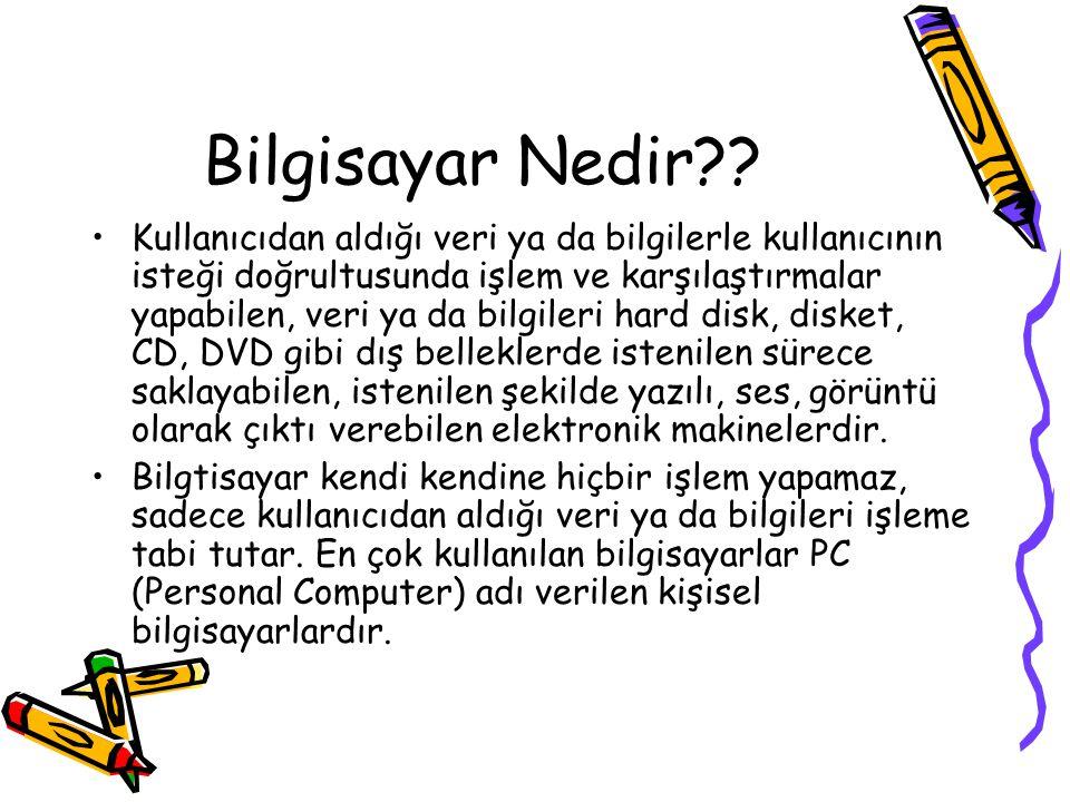 Bilgisayar Nedir?.