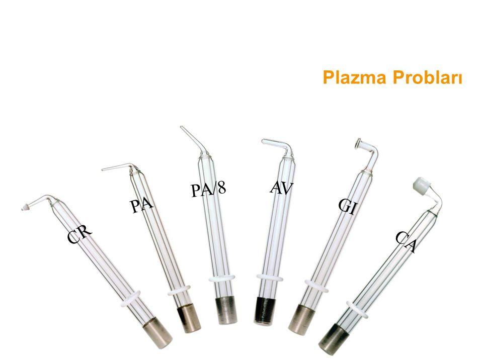 Plazma Probları CR CA PA GI PA/8 AV