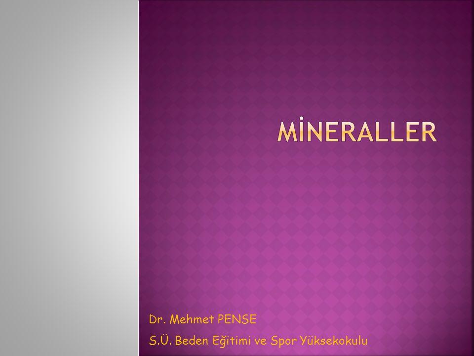  92 doğal elementten 50 veya daha fazlası insan vücut doku ve sıvılarında bulunmaktadır.