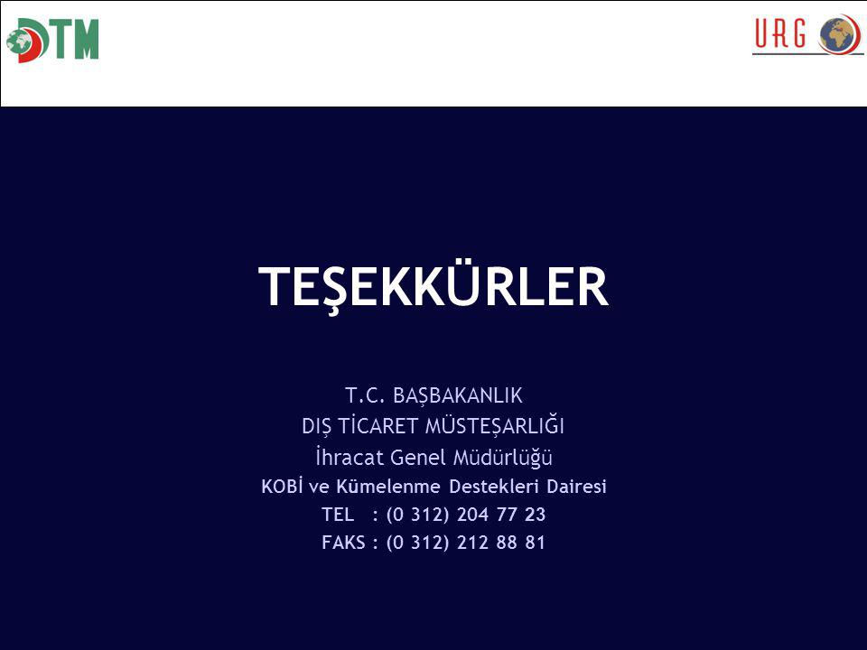 TEŞEKK Ü RLER T.C.