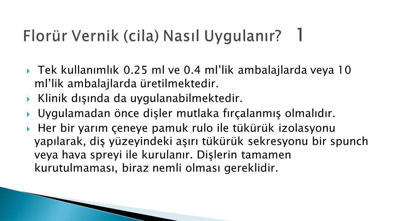  Tek kullanımlık 0.25 ml ve 0.4 ml'lik ambalajlarda veya 10 ml'lik ambalajlarda üretilmektedir.  Klinik dışında da uygulanabilmektedir.  Uygulamada