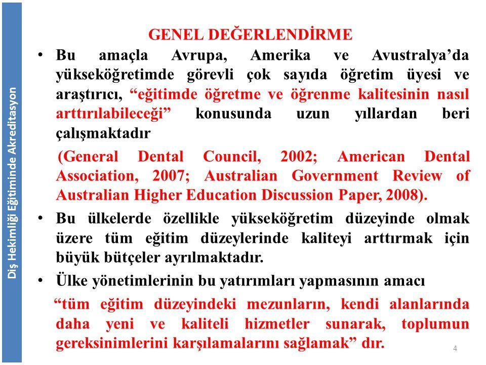 Türkiyede Yüksek Öğretim İle İlgili Gelişmeler Türkiye'de Bologna süreci ile eş zamanlı olarak çeşitli çalışmalar yapılmıştır.