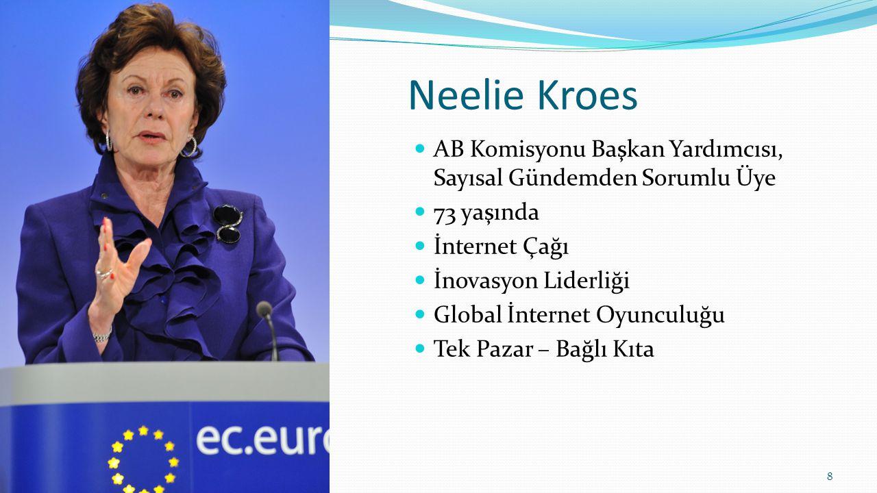 Türkiye'nin ihtiyaçları Vergi düzenlemeleri (özellikle e-hizmetler) E-fatura ve Dijital İmza düzenlemeleri Fikri Mülkiyet Haklarının çevrimiçi olarak korunması E-ticaret direktiflerinin güncellenmesi Tüketici Haklarının düzenlenmesi Alternatif uyuşmazlık olasılıkları 19