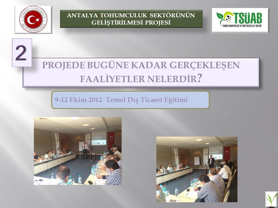 BİR SONRAKİ EĞİTİM 15-16 OCAK 2013 SEBZE ISLAHI VE TEMEL YAKLAŞIMLAR Prof.