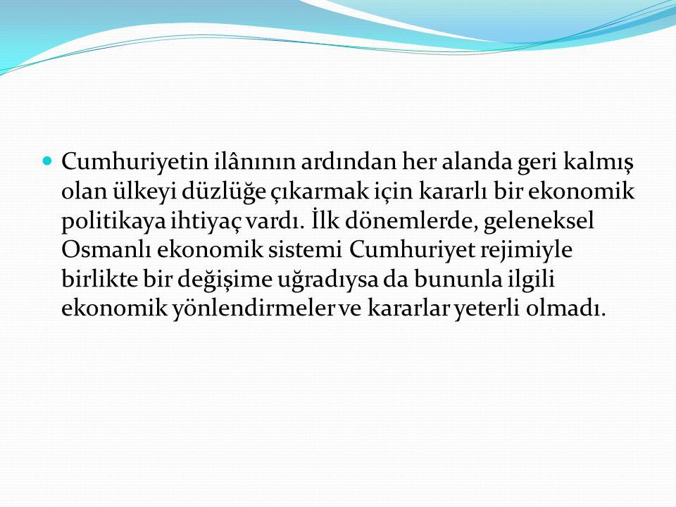 Osmanlı ekonomisinin usta-çırak ilişkisi şeklindeki yapılanması, ekonominin devlet tekelinden bağımsız olmasını engellemiş, rekabet gücüne dayanan liberal ekonomi kurallarını geçersiz kılmıştır.
