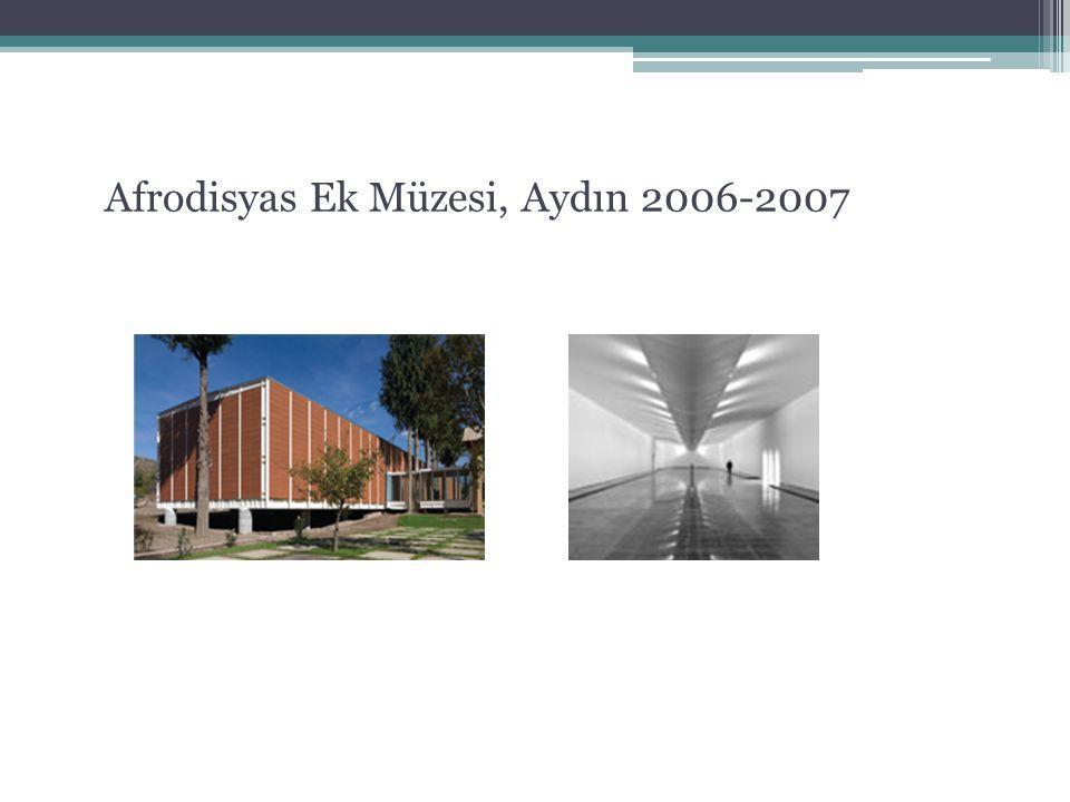 -Çelik bir yapı olarak tasarlanan müze, kazıklar üzerine oturtulacak biçimde tasarlandı.